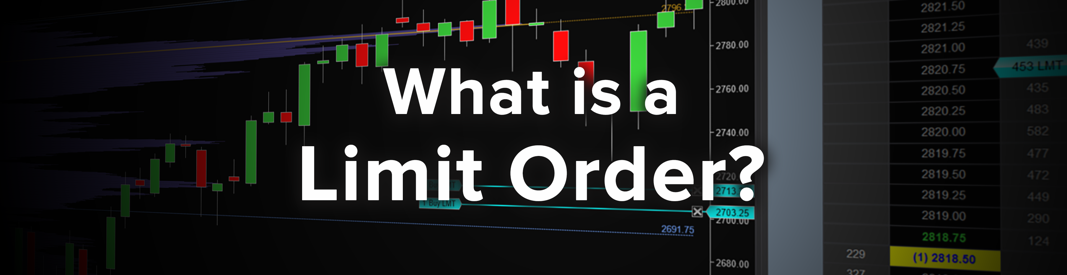 limit order type trading investing broker futures