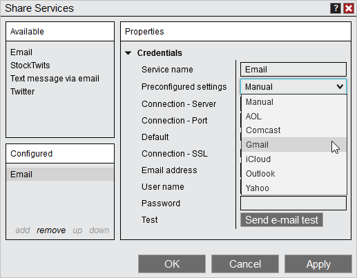 PreconfiguredEmail