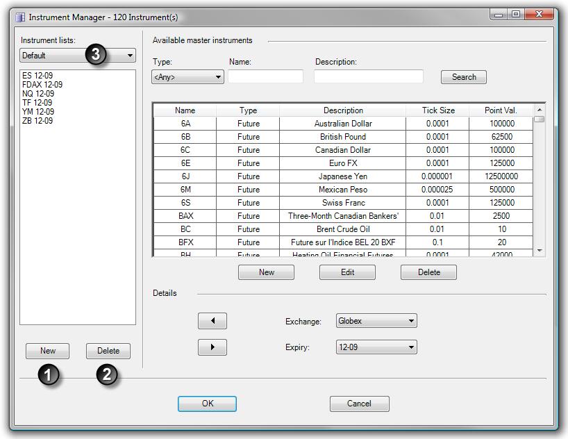 Instrument Manager Adding Old Expiry NinjaTrader Support