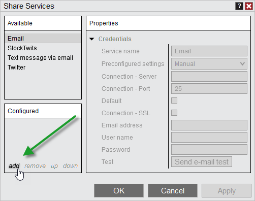 Options_SharingServicesAddEmailAdd